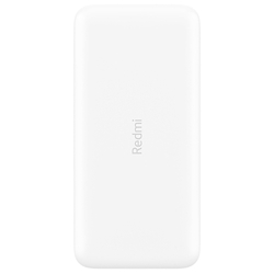 Аккумулятор Xiaomi Redmi Power Bank Fast Charge 20000 mAh 2USB/1Type-C White